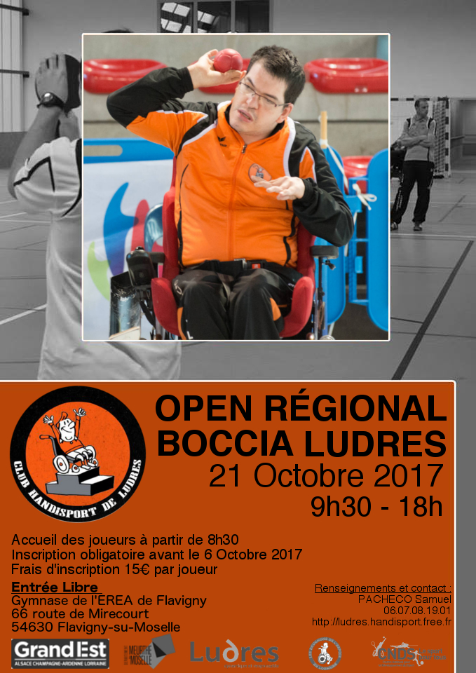 Affiche Open Ludres